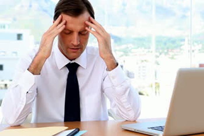 stress da preoccupazioni