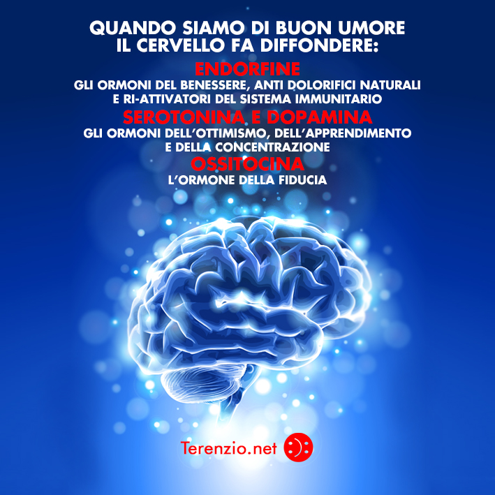 buon umore nel cervello