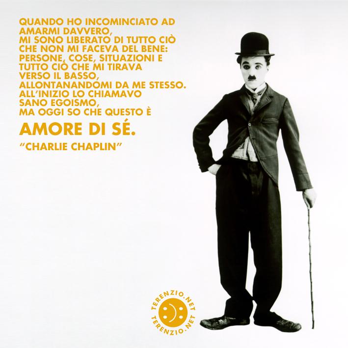 #119 TERENZIO AMARE SE STESSI Chaplin